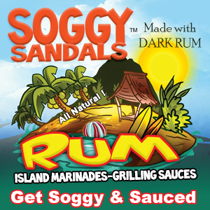 Soggy Sandals Rum Marinade and Grilling Sauce